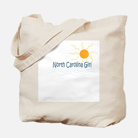 North Carolina Girl Tote Bag