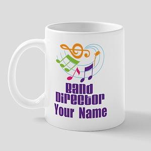 Personalized Band Director Mug