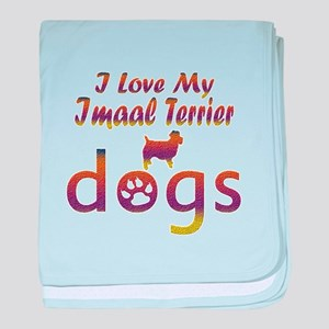 Imaal Terrier designs baby blanket