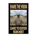 Share the Vision: Mini Poster Print