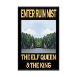 Enter Ruin Mist: Mini Poster Print