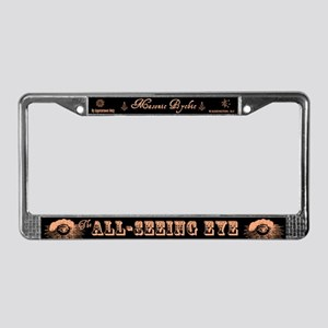 All Seeing Eye Masonic Psychic License Plate Frame