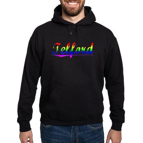 Telford, Rainbow, Hoodie (dark)