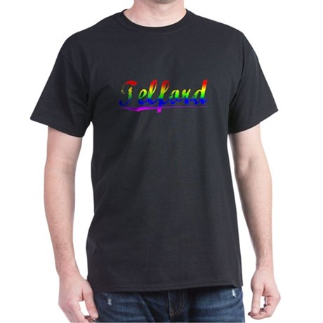 Telford, Rainbow, Dark T-Shirt