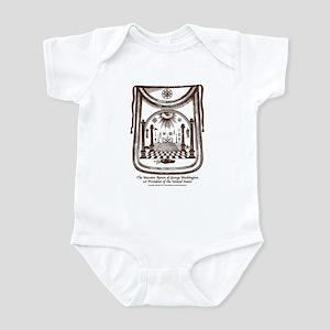 George Washington's Masonic Apron Infant Bodysuit
