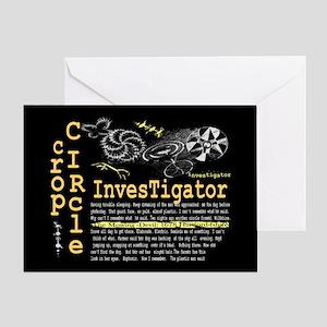 Crop Circle Inv V2 Greeting Card