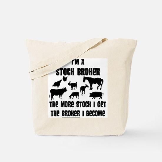 stock broker Tote Bag