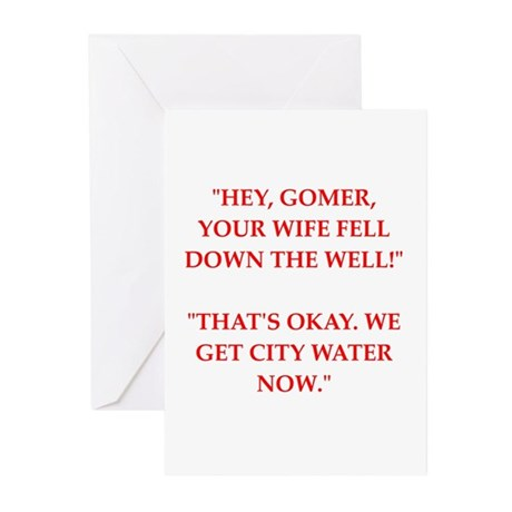 wife Greeting Cards (Pk of 10)