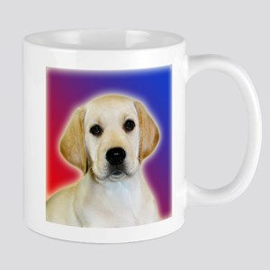 Yellow Lab Pop Art Puppy Mug