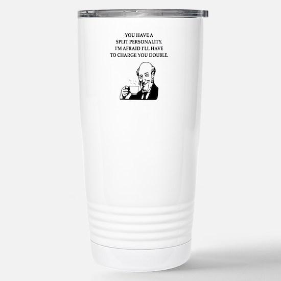 psycho Stainless Steel Travel Mug
