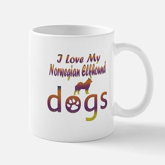 Norwegian Elkhound designs Mug