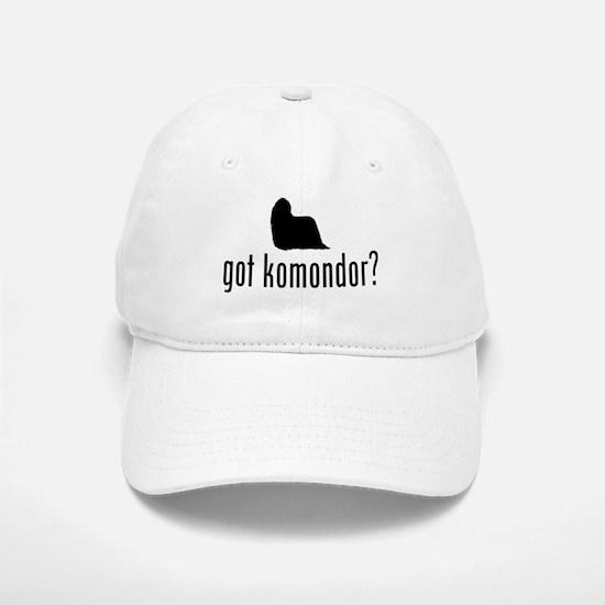 Komondor Baseball Baseball Cap