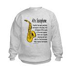 Alto Saxophone Kids Sweatshirt