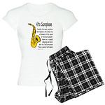 Alto Saxophone Women's Light Pajamas