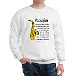 Alto Saxophone Sweatshirt
