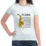 Alto Saxophone Jr. Ringer T-Shirt