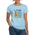 Alto Saxophone Women's Light T-Shirt