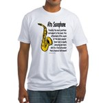 Alto Saxophone Fitted T-Shirt
