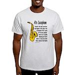 Alto Saxophone Light T-Shirt