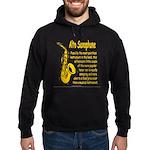 Alto Saxophone Hoodie (dark)