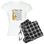 Tenor Sax Women's Light Pajamas