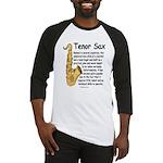 Tenor Sax Baseball Jersey