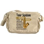 Tenor Saxobone Messenger Bag