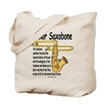 Tenor Saxobone Tote Bag