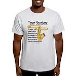 Tenor Saxobone Light T-Shirt