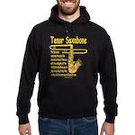 Tenor Saxobone Hoodie (dark)