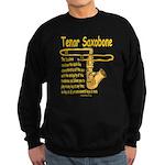 Tenor Saxobone Sweatshirt (dark)