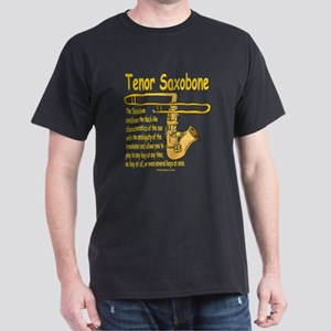 Tenor Saxobone Dark T-Shirt