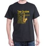 Tenor Saxobone Dark T-Shirt