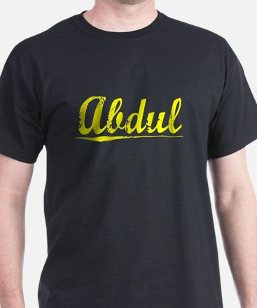 Abdul, Yellow T-Shirt