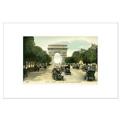 Paris 11 x 17 Posters