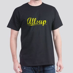 Allsup, Yellow Dark T-Shirt