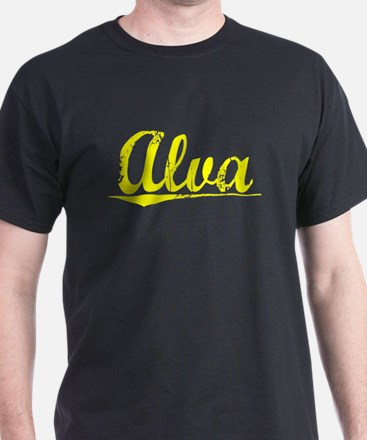 Alva, Yellow T-Shirt