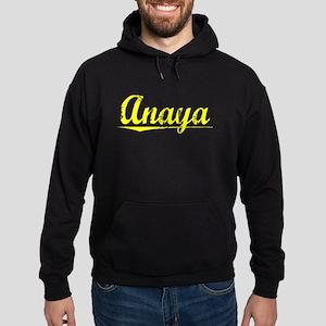 Anaya, Yellow Hoodie (dark)