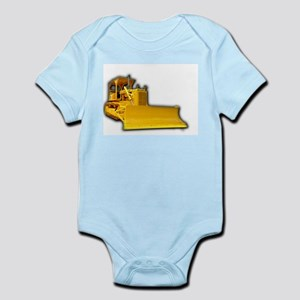 Bulldozer Infant Bodysuit