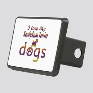 Sealyham Terrier designs Rectangular Hitch Cover