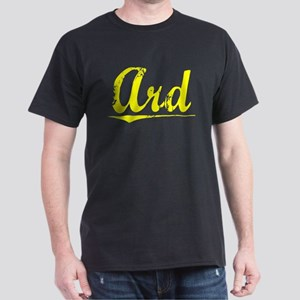 Ard, Yellow Dark T-Shirt