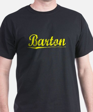 Barton, Yellow T-Shirt