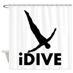 iDive Diving Shower Curtain