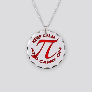 Keep calm PI Necklace Circle Charm