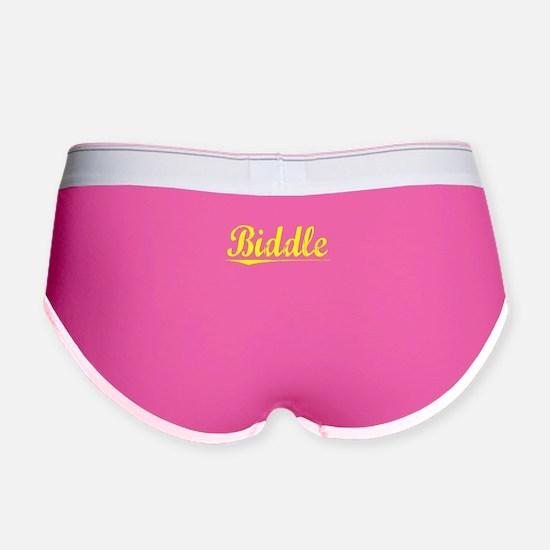 Biddle, Yellow Women's Boy Brief