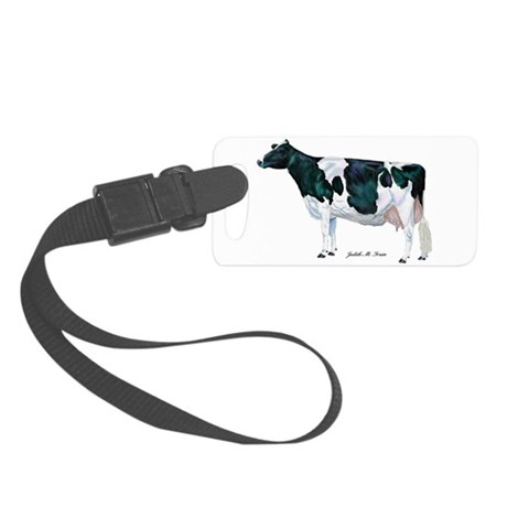 Holstein Cow Small Luggage Tag