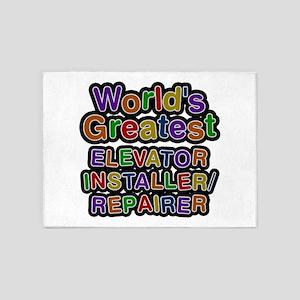 World's Greatest ELEVATOR INSTALLER REPAIRER 5'x7'
