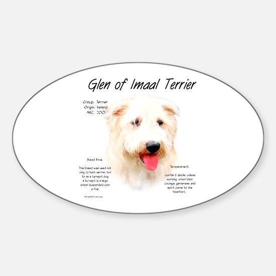 Glen of Imaal Sticker (Oval)
