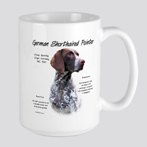 German Shorthaired Pointe 15 oz Ceramic Large Mug