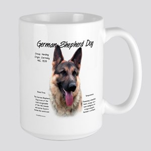 GSD 15 oz Ceramic Large Mug